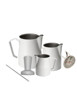 White Barista Kit