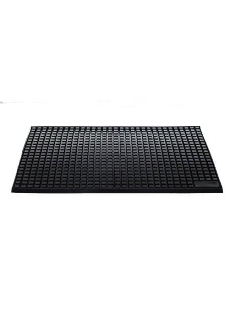 Black Bar Service Spill Mat With Soft Rubber Pro Bar