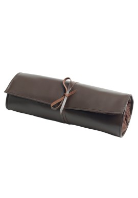 Portable Leather Roll for Bar Equipment