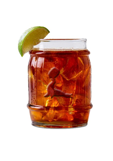 Super Goslings Glass Barrel | Cocktail Glasses | PRO BAR UP57