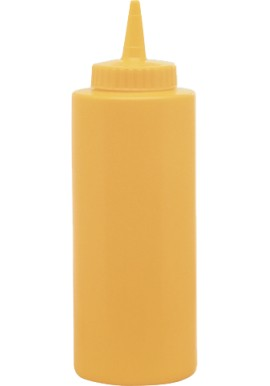 Yellow Squeeze Bottle 354ml