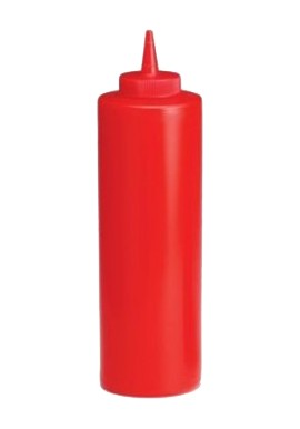 Red Squeeze Bottle 354ml