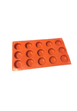 Ice Tray 15 Cavity Half Sphere