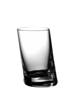 Vintage Tilted Shot Glass