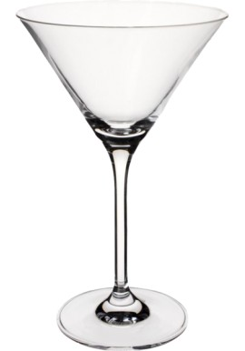 Double Martini Glass