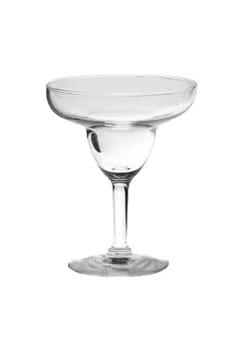 Polycarbonate 13cl Margarita Glass