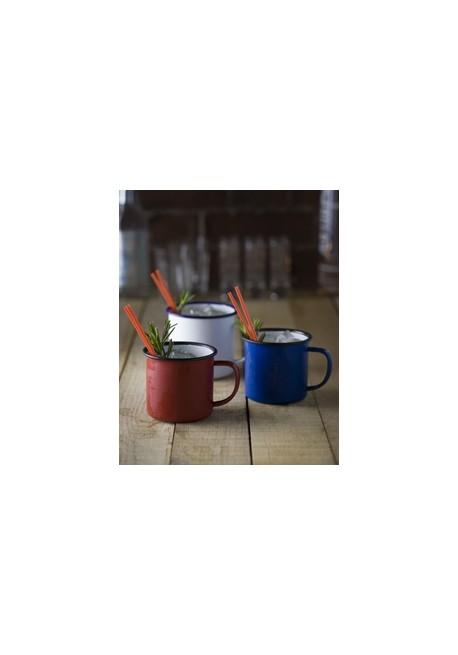 Blu Enamel Mug