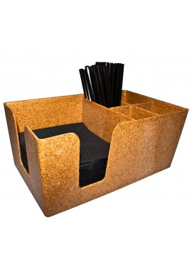 Eco Wooden Bar Organizer