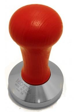 Pressino Caffe' Professionale base piatta M/Rosso 52mm