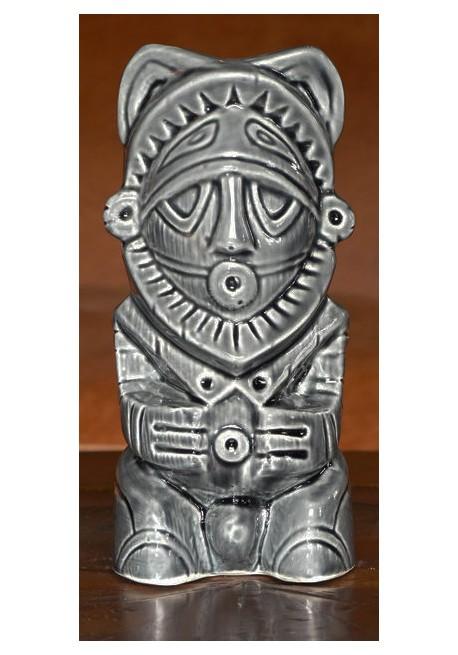 Bicchiere Tiki Mug Totem Pole Dipinto