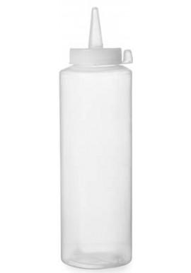 Transparent Squeeze Bottle 236ml