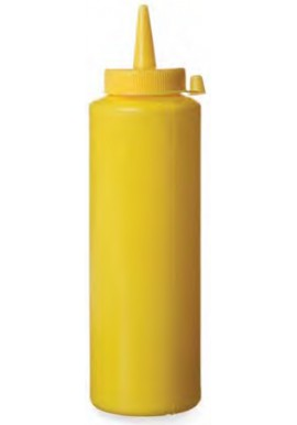 Yellow Squeeze Bottle 236ml