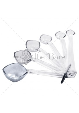 Polycarbonate Measuring Spoons Kit