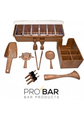Eco Wood Bar Tools Kit