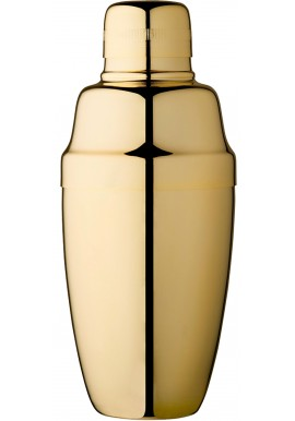 Gold Plated Vintage Coobler Shaker 16oz - 50cl