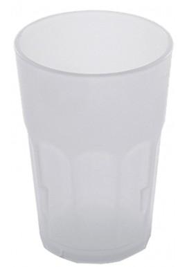 Milk White Polycarbonate Rocks Glass