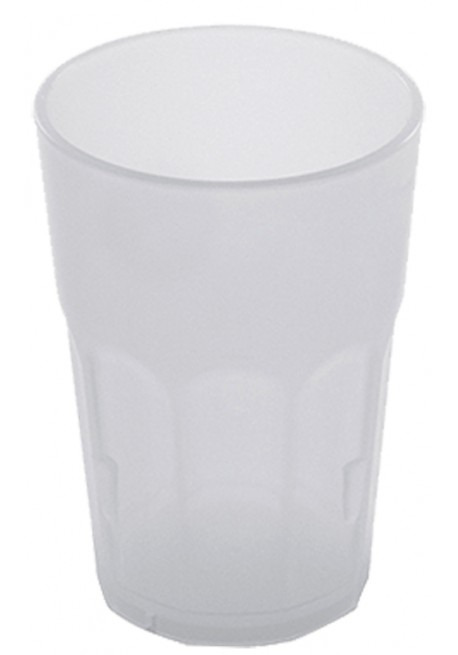 Bicchiere Rock Juice Polipropilene Bianco Latte - The Bars