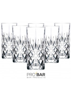 Melodia Tumbler Glass (6 glasses per package)