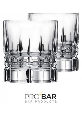 Old Fashioned Carrara Glasses (2 glasses per package)