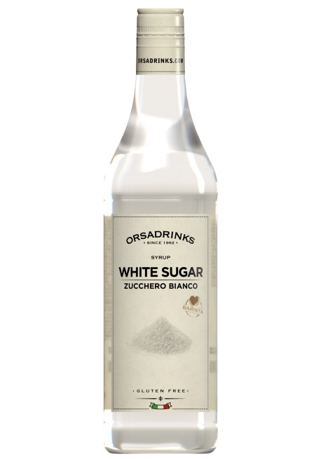 White Sugar Syrup Odk Orsa Drink Syrups Pro Bar