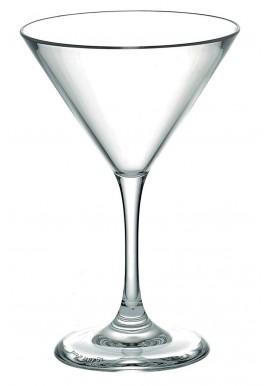 Polycarbonate Martini Glass