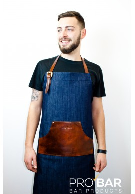 Apron Puraclasse Blue Denim