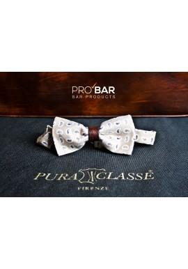 Bartenders Bow Tie Puraclasse Cream Color