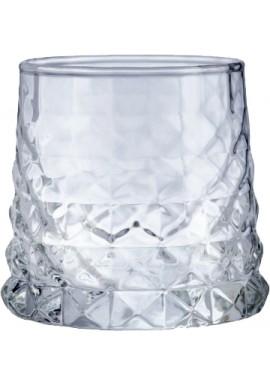 Old Fashioned Diamond Glass