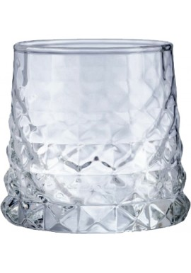Old Fashioned Diamond Glass