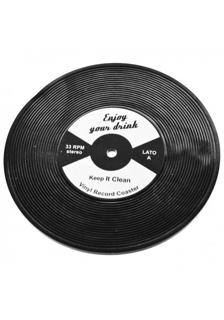 Record Coaster