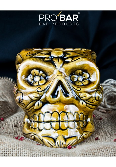 Mexican Sugar Skull Honey Mug Tiki Mugs Pro Bar