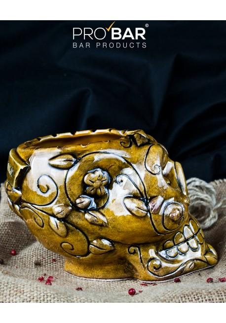 Mexican Sugar Skull Honey Mug Tiki Mugs Pro Bar