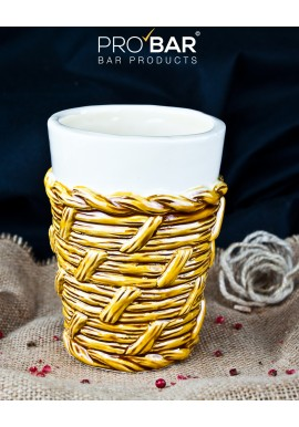 Wicker Tiki Mug