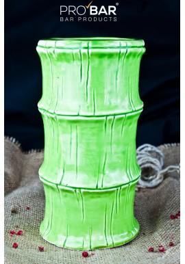 Green Bamboo Tiki Mug