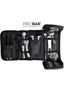Faux Leather Bartender Bag with Kit