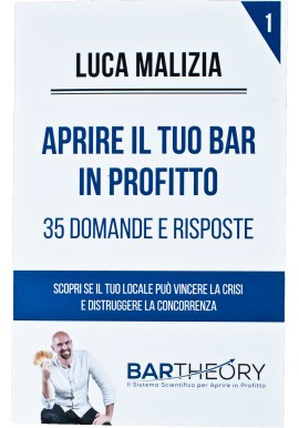 Come Aprire un Bar in Profitto in 3 Semplici Mosse: BAR Theory