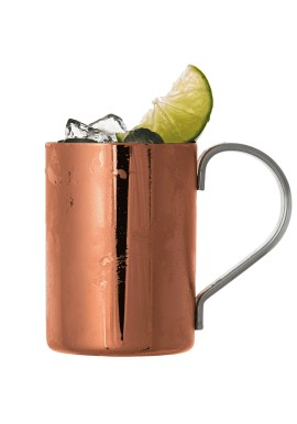 Vintage Glossy Copper Moscow Mule Cup 32 cl