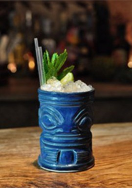 Blue Marqui Marq Tiki Mug