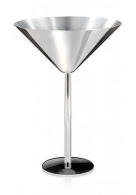 Silver Martini Glass 23cl Lumian