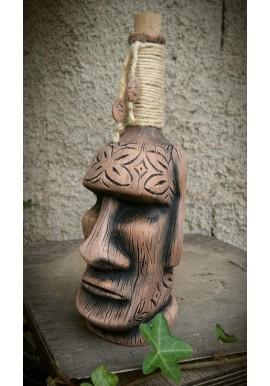 Tiki Moai Bottle