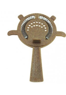 Eco Wood 4 Prong Strainer