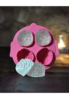 Ice Tray 4 Brain Ice Cubes