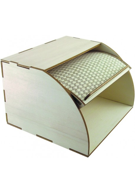 Wooden Bread Box