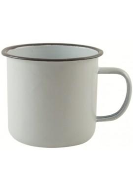 White Vintage Enamel Mug