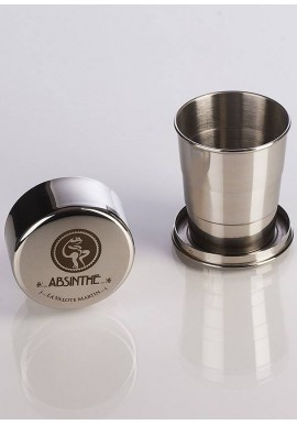 Absinthe Collapsible Metal Cup - Valote Martin