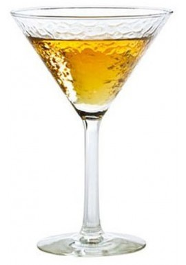 Bicchiere Doppia Coppa Martini Glam