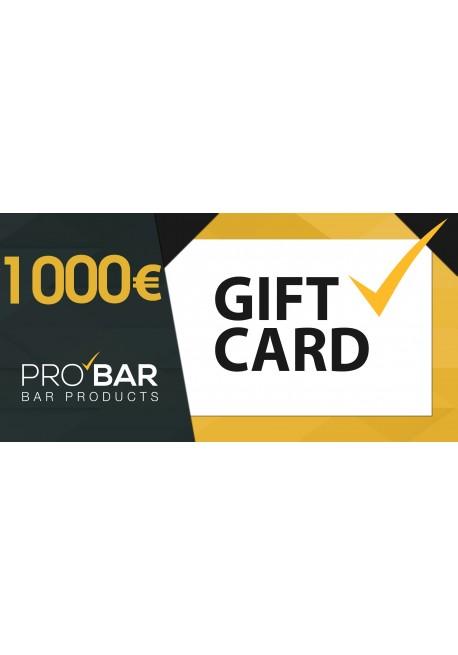 Gift Card €1000
