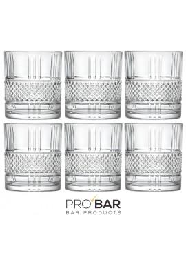 Old Fashioned Brilliant Glasses (6 glasses per package)