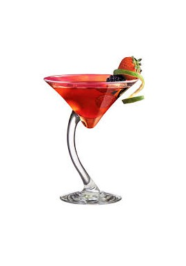 Bravura 20cl Double Martini Glass