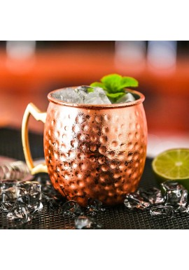 Hammered Moscow Mule Mug 50cl